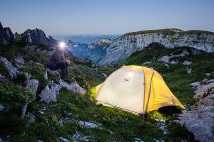Mein Camping Platz im Alpstein